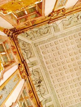 ceiling of the marbelhall , Konrad H - February 2017