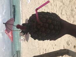 Pina Colada from the bar behind our cabana.. not included in the tour , Haley O - May 2017