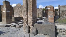 Cistern in the middle of Pompei ruins , James - May 2017