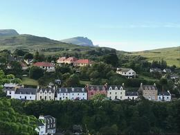 View of Portree from the Apothecary's Tower. , Thomas J - July 2017