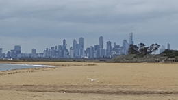 Looking back to Melbourne , davenewlyn - January 2018