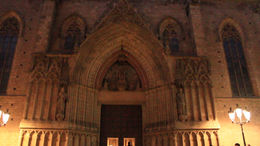 Santa Maria del Mar Cathedral! - March 2012