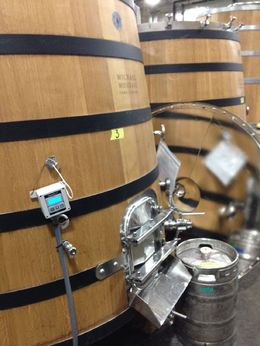 Behind the scenes: barrels, Trina Tron - December 2014