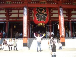 Asakusa Shrine...that's me.. , Warren C - November 2011