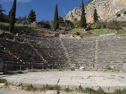 Theater of Delpi , gerald d - December 2013