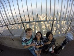 Fiance, Me and the bestfriend. Taken by go pro. , Aletheia F - October 2015