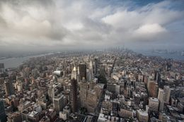 View of Manhattan, Sherry Ott - August 2012