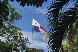 Flag on top of Cerro Ancon , Bertus D - June 2016