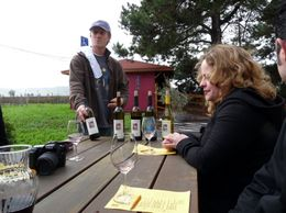 Wine Tasting at Homewood., Kelly G - February 2010