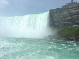Horseshoe Falls from Hornblower Cruise, Niagara Falls , Jean R - July 2015