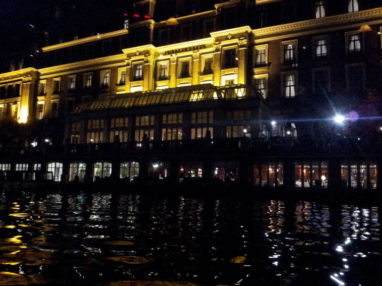 hotel on water - Amsterdam