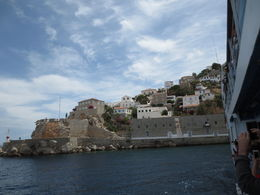 First glimpse of Hyda as your first stop on this Saronic islands tour. , Joe A - July 2013