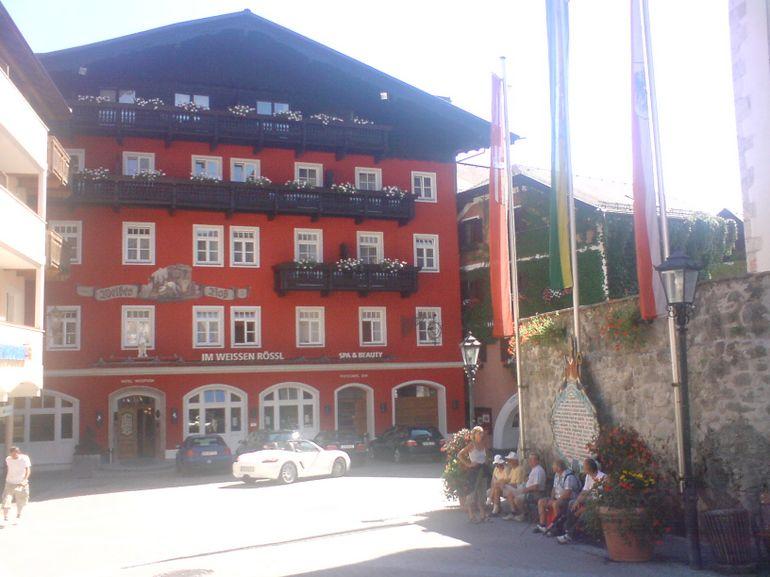 Lake District, St. Wolfgang's White Hourse Pub - Munich
