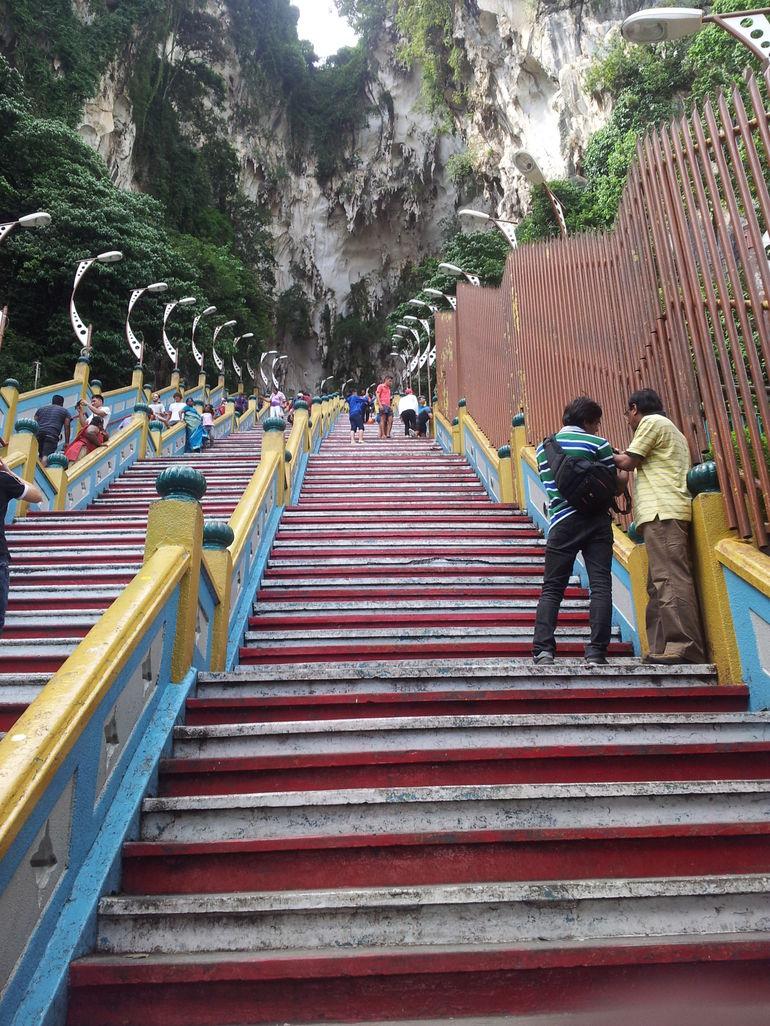 Lots of Stairs - Kuala Lumpur