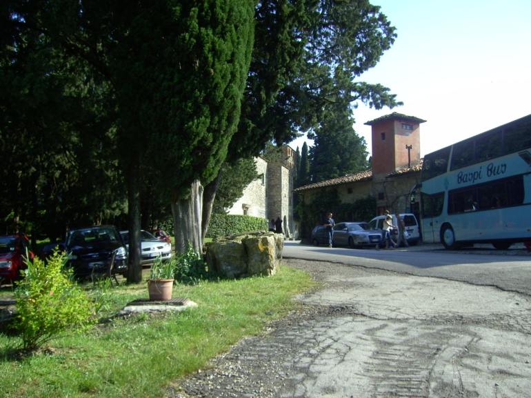 Outside the castle - Chianti Region - Florence