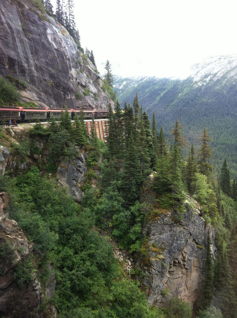 Overlook from a Skagway Railroad trip - Skagway