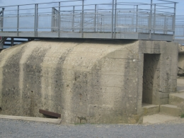 bunker at Pointe-Du-Hoc, Ricardo G - September 2010