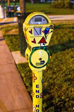 Parking meter, Sarah - December 2011