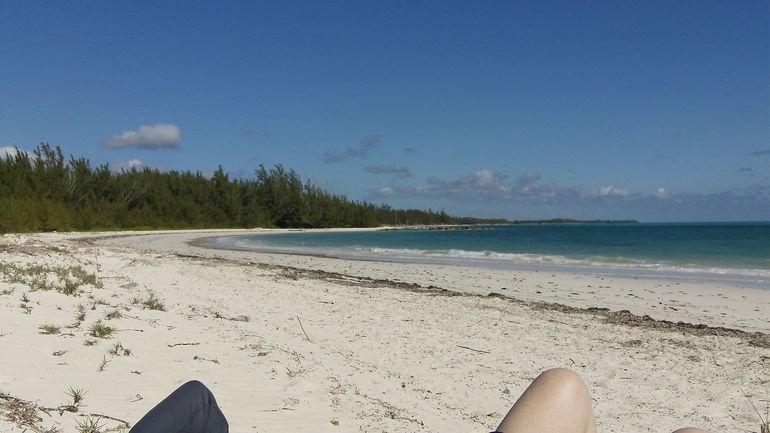 Private beach near Freeport, Bahamas. - Freeport