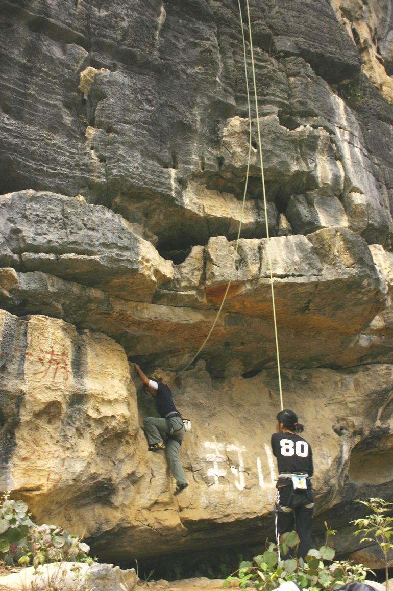 Rock Climbing - Yangshuo