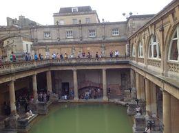 Rome bath site in Bath , David T - June 2014
