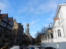 Canal boat ride through Bruges - A must! , TrailsofAnne - January 2014