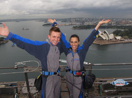 Sydney BridgeClimb, Asha & Brock - July 2013