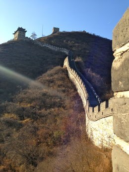 A beautiful, crisp fall day on the Great Wall , Laura S - December 2013