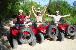 The group: ATV tour of Cancun - December 2009