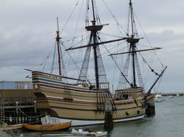 A photo of the Replica Mayflower. The interior was very interesting to see but it must have been a horrendous journey for the pilgrims. , Brenda B - October 2015