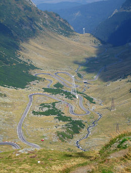 The winding Transfăgărășan road , Daniel F - December 2015