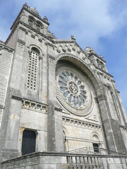 This was the church on the hill at Viana do Castelo , Krishan S - July 2015