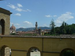 View From the Pitti Palace, Philippa Burne - July 2011