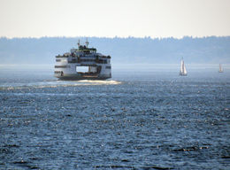 The ferry looks so hollow, but somehow it works. , Kris R - August 2013