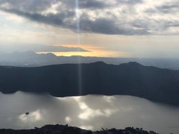 Lake Ashi from the top of the cable car , David H - December 2017