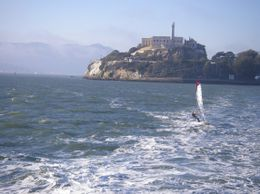 Photo of Alcatraz from the ferry., NIGEL H - November 2008