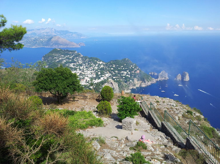 Amazing view from Capri - Rome