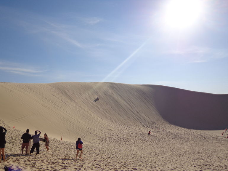 Beautiful sand dunes - Sydney