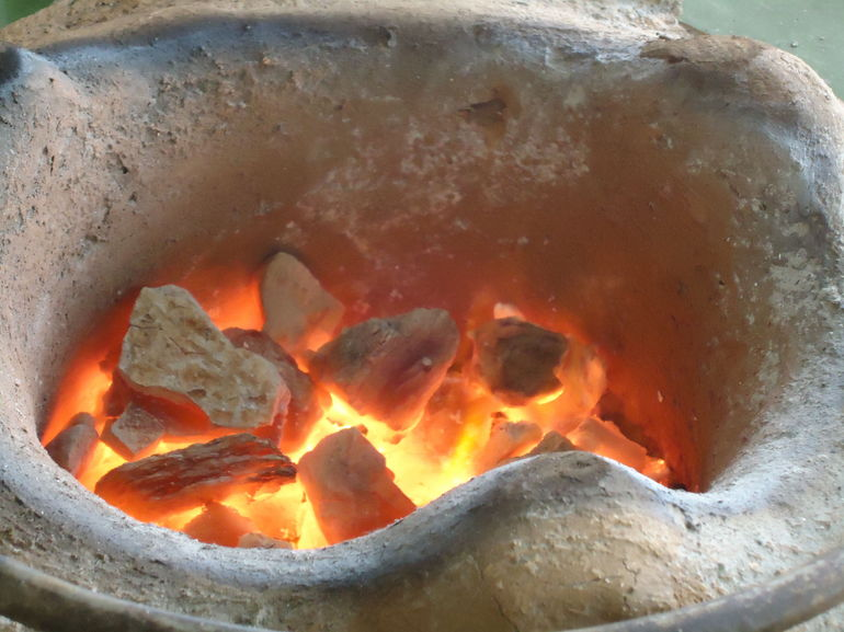 Coal ready to use for cooking.JPG - New Delhi