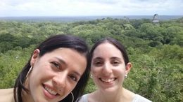From the top of one of the temples in Tikal - October 2015