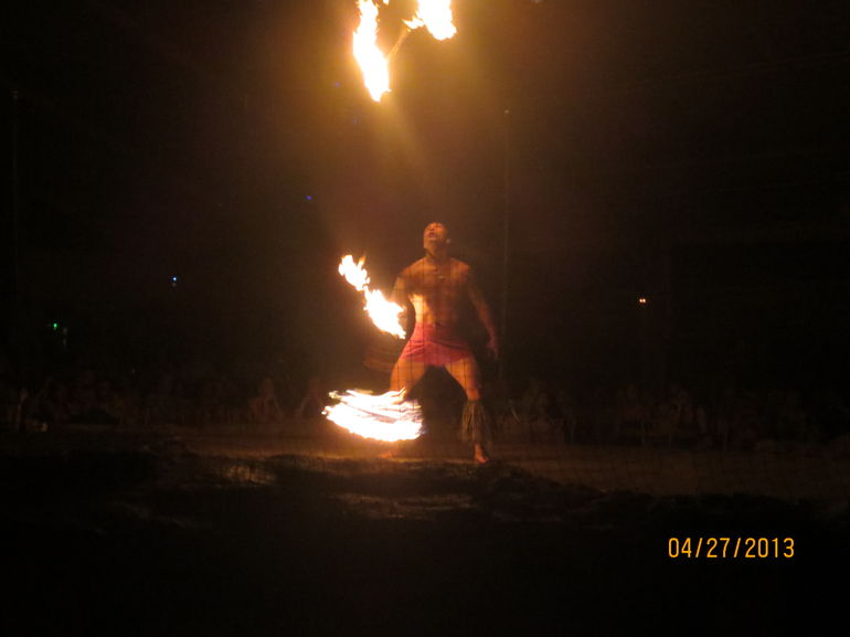 Fire Dancer - Kauai