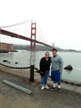 Golden Gate Bridge , Isela A - July 2013
