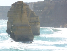 Stacks, cliffs and waves, Susan H - November 2010