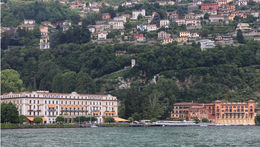 Lake Como - view from boat , Michelle S - June 2013
