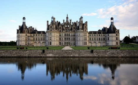 chateau de chambord vallee de la loire