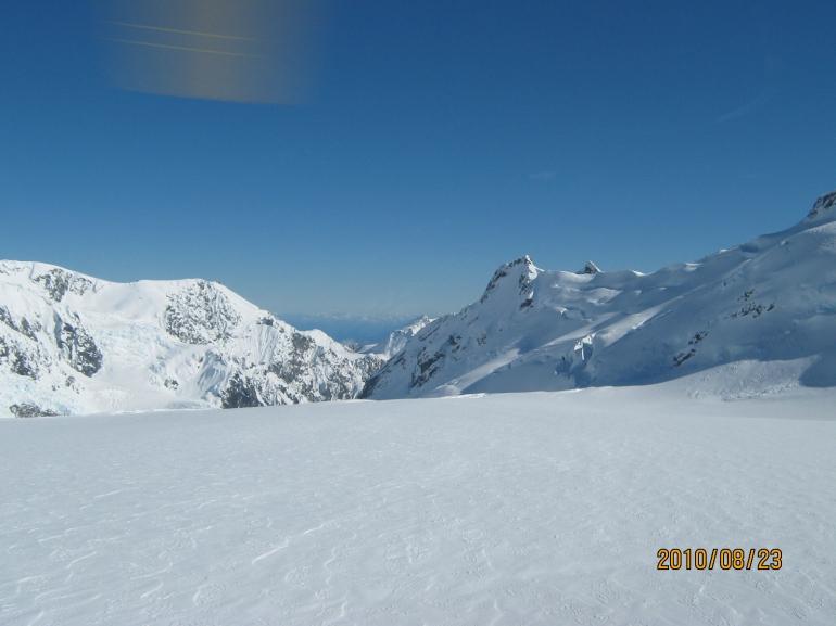 Looking Down - Franz Josef & Fox Glacier