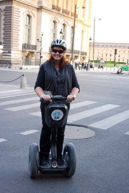 Me on the Paris Segway Tour - August 2009