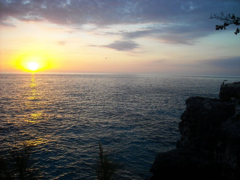 Sunset, Rick's Cafe, Negril - Montego Bay
