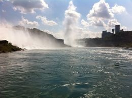 This time from the Maid of the Mist boat vessel , Sven M - September 2012
