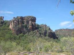 Nourlangie Rock is a very spiritual place for the people of Kakadu. It is a privilege to be able to walk around it and see ancient rock paintings in the caves., Margaret G - September 2010